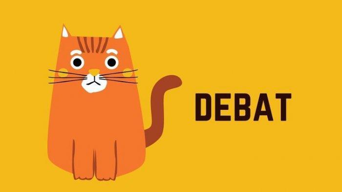 Ilustrasi materi debat.