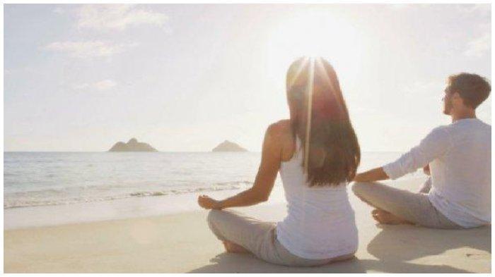 Ilustrasi Meditasi - Zodiak Gemini akan mencurahkan banyak waktunya untuk melakukan meditasi.