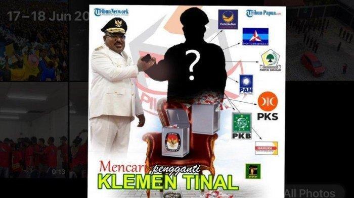 4 dari 9 Parpol Anggota Koalisi Papua Bangkit Usulkan 12 Nama Cawagub Papua Pengganti Klemen Tinal