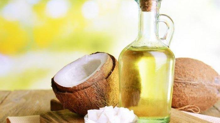 Ilustrasi minyak kelapa.(nova.id)