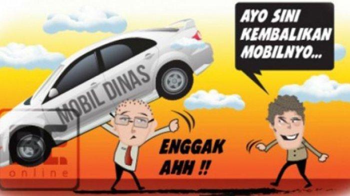 Ilustrasi Mobil Dinas PNS Belum Dikembalikan
