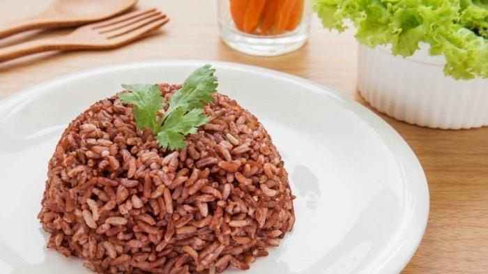 Ilustrasi Nasi Merah