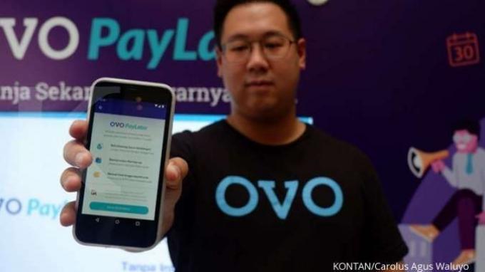 ILUSTRASI OVO. Platform ekosistem meluncurkan fitur baru OVO PlayLater.