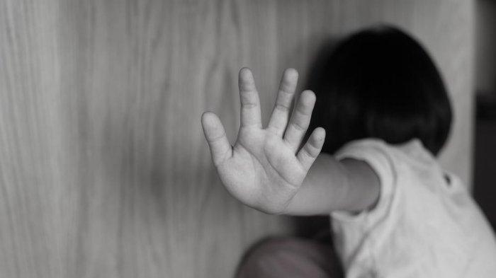 Ilustrasi pelecehan seksual pada anak.