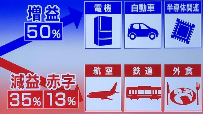 50% Perusahaan Jepang Terdaftar di Pasar Modal Sudah Meraih Untung
