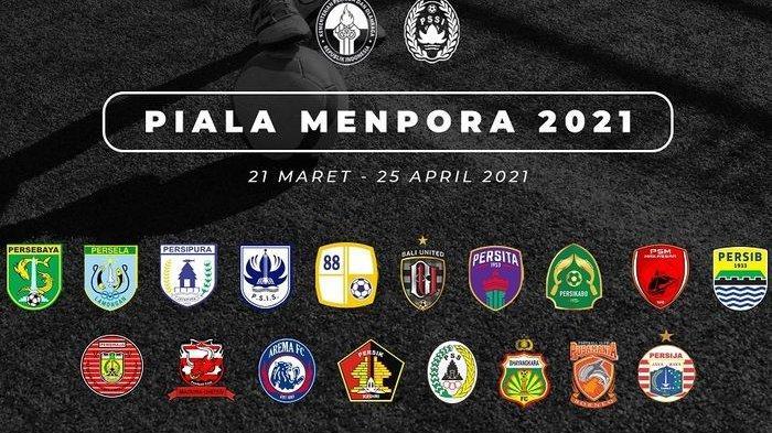 JADWAL LENGKAP 8 Besar Piala Menpora 2021: Persib vs Persebaya, hingga Persija vs PSM