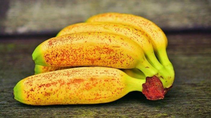Ilustrasi pisang mas