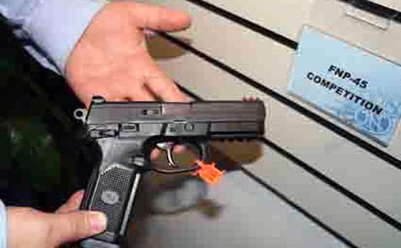 Polisi Kembali Temukan Pistol Ilegal Yang Dijual Oknum Polisi Tribunnews Com Mobile