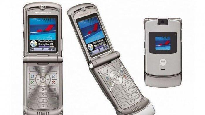 Ponsel Clamshell Legendaris Motorola RAZR Bakal Dirilis Ulang?