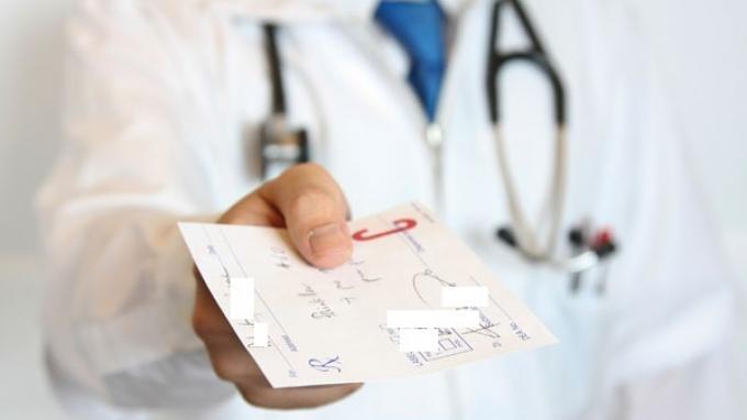 Ilustrasi resep dokter