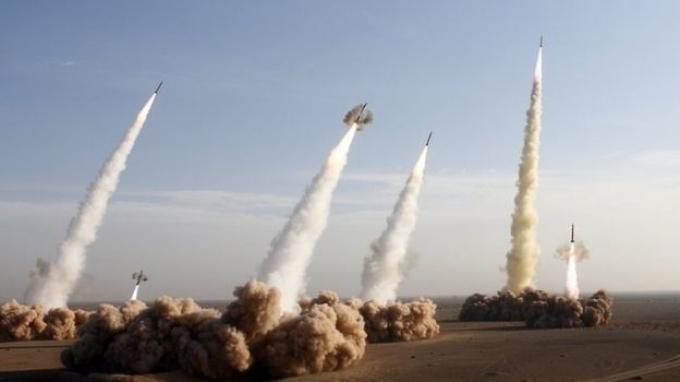 ILUSTRASI - Rudal balistik jarak jauh Iran, Shahab 2. - Pasca Serangan ke Pangkalan Militer AS di Irak, Iran Minta Amerika Tarik Pasukan dari Timur Tengah