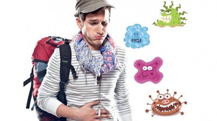 Ilustrasi sakit diare saat traveling