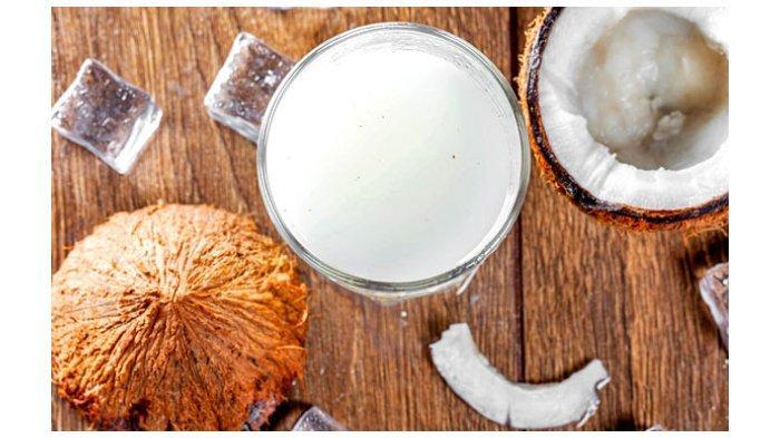 Ilustrasi santan kelapa.
