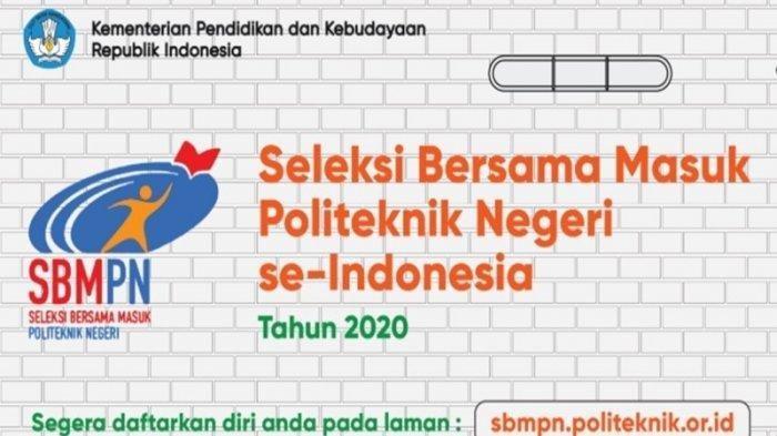 Pengumuman SBMPN 2020 Telah Diumumkan Hari Ini, Cek Hasil Seleksinya Melalui sbmpn.politeknik.or.id
