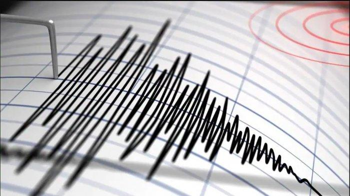 BREAKING NEWS - BMKG Catat Gempa 3.9 M Guncang Donggala, Pusat Gempa Berada di Darat Terasa di Palu