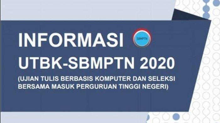 Daftar UTBK-SBMPTN 2020 Login portal.ltmpt.ac.id, Berikut Daftar PTN & Jadwalnya