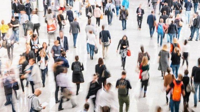 ILUSTRASI Social Distancing - Social distancing adalah cara terbaik untuk mencegah penyebaran virus corona, menurut para ahli.