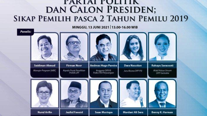 Nurul Arifin Bersyukur Golkar Berada di Peringkat Tiga Besar Survei SMRC