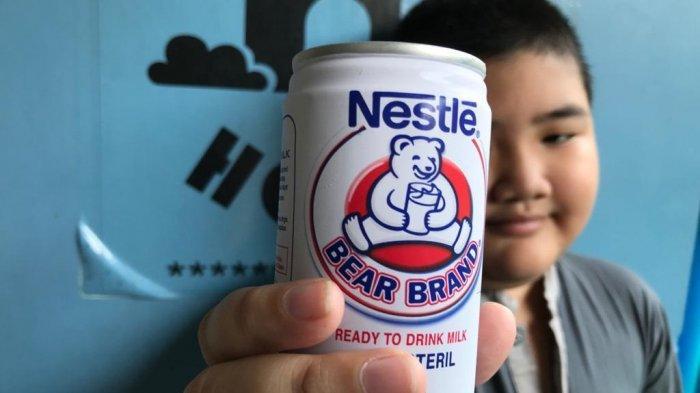 Ilustrasi susu bear brand, saat ini susu bear brand langka di pasar menyusul melonjaknya pasien covid-19