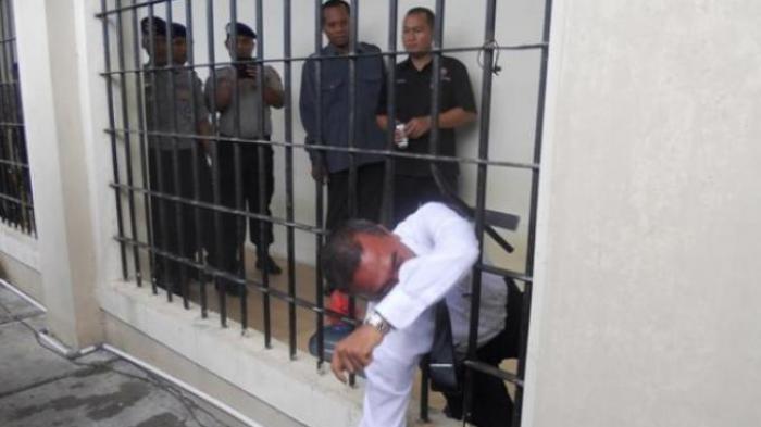 Foto-foto Tahanan Narkoba yang Kabur Setelah Siram Air Cabai Sipir di Tahanan BNNP Sumut