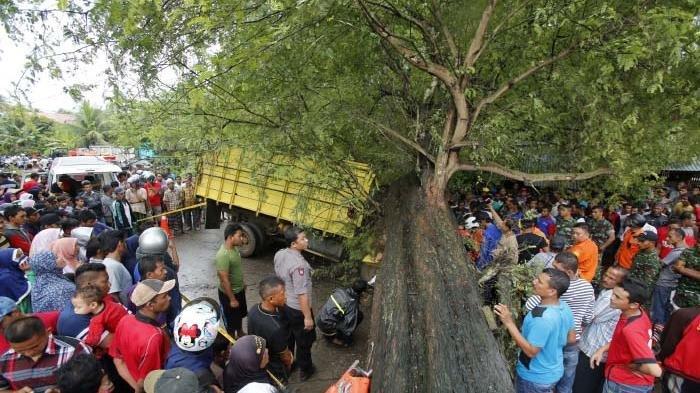 Nyawa Abdurrahman Tak Tertolong Setelah Tertimpa Pohon Rambutan yang Ditebangnya