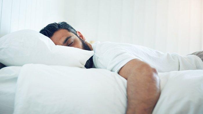Ilustrasi tidur saat puasa