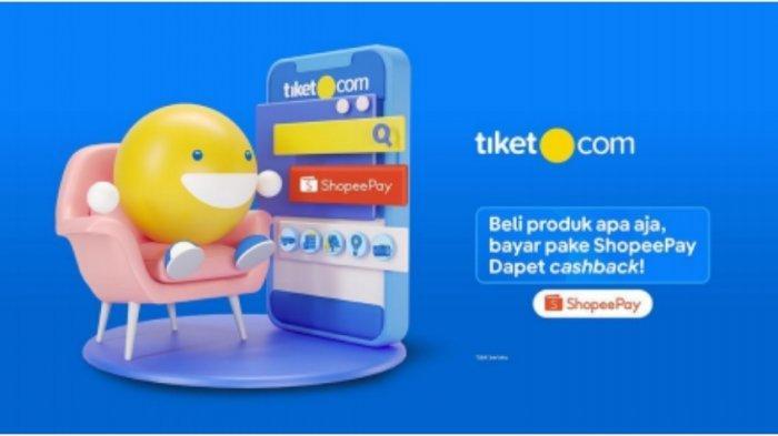 Mudahkan Saat Staycation dan Work From Hotel, tiket.com dan ShopeePay Siapkan Cashback Menarik