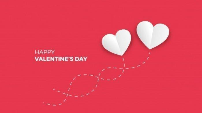 Ilustrasi Ucapan Hari Valentine.