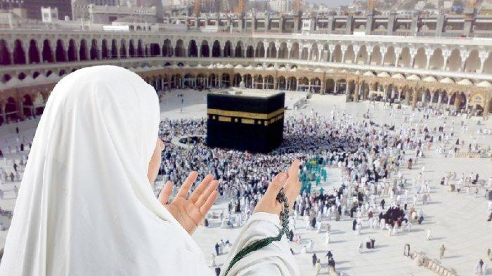Ilustrasi umrah backpacker ke Mekkah