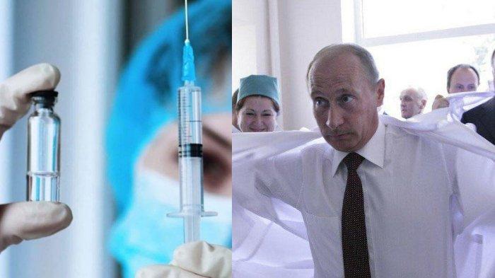 Presiden Rusia Vladimir Putin Instruksikan Kampanye Imunisasi Vaksin Covid-19 'Skala Besar'