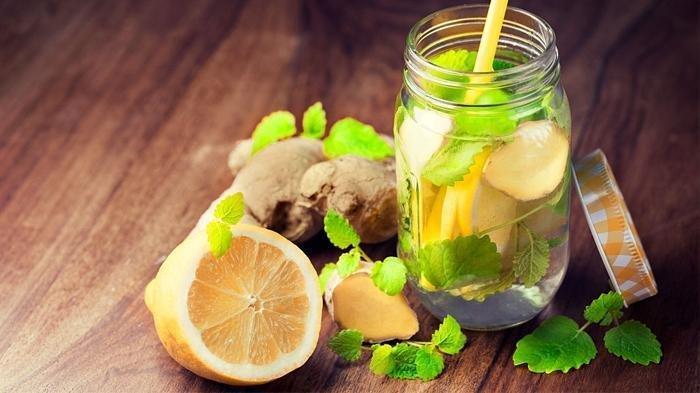 Ilustrasi wedang jahe lemon, salah satu minuman yang dapat meningkatkan imunitas tubuh