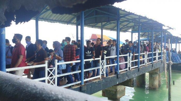 Status Lockdown di Malaysia Diperpanjang, 1.364 WNI Pulang ke Indonesia Lewat Batam