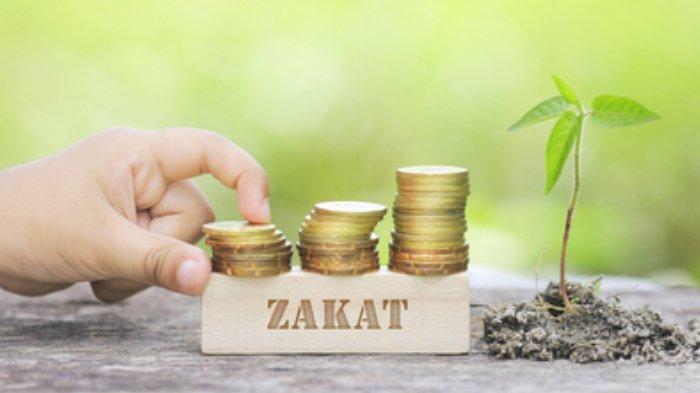 Ilustrasi zakat.