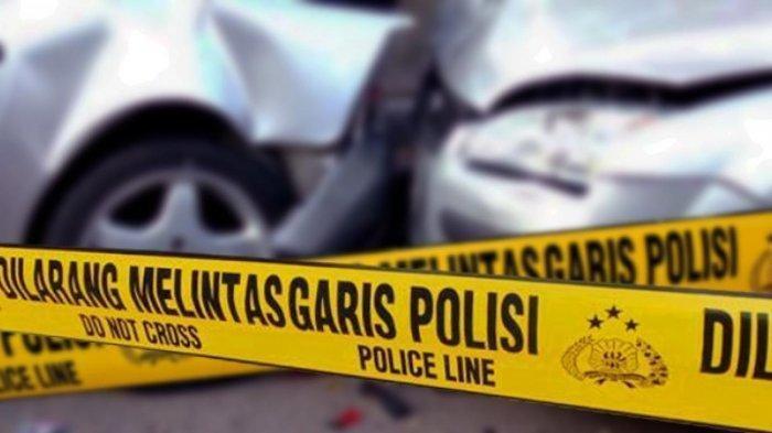Kecelakaan Tunggal di Tol BSD-Jakarta, Pengemudi Minibus Alami Luka Berat