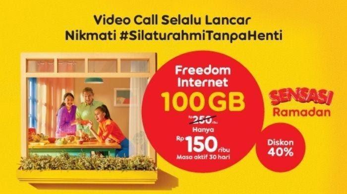 Silaturahmi Lancar Terus, IM3 Ooredoo Rilis Paket Kuota Besar dengan Diskon 40%