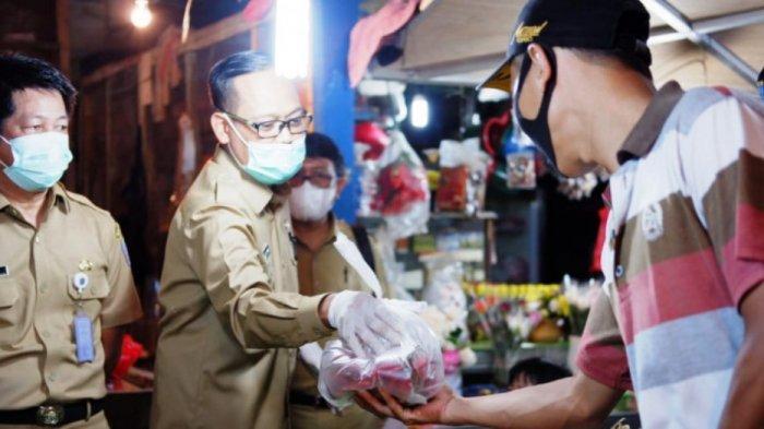 Wakil Wali Kota Depok Lakukan Inspeksi Mendadak di Pasar Agung, Temukan Komoditas yang Harganya Naik