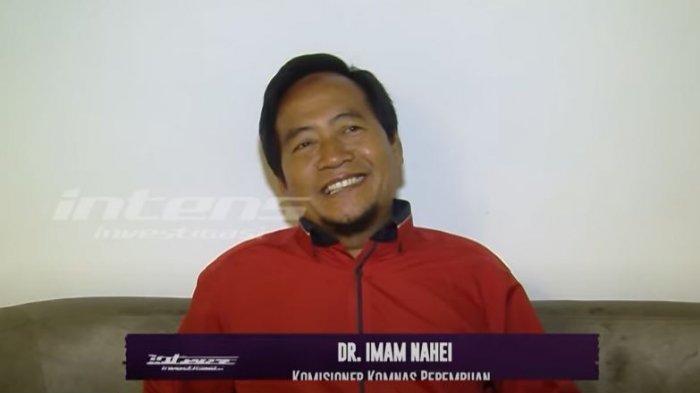 Imam Nahei Komisioner Komnas Perempuan saat ditemui oleh awak media