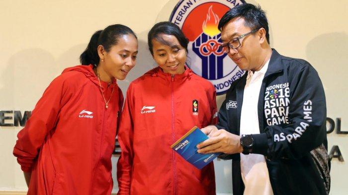 Menpora Berharap Atlet Sepak Takraw Putri Indonesia Si Kembar Lena dan Leni tak Pensiun Dahulu