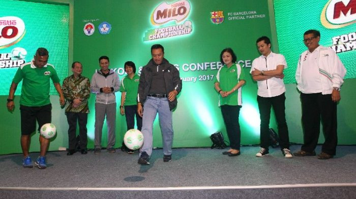 MILO Football Championship 2017: Siapkan Bibit Pesepak Bola Indonesia Raih Prestasi Dunia