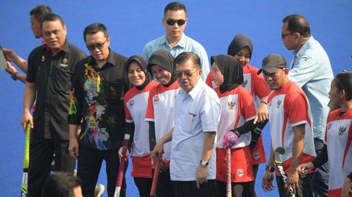 Wapres Jusuf Kalla Optimis Indonesia Bisa Jadi Tuan Rumah Olimpiade