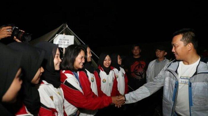 Api Unggun Penyemangat Atlet Asian Para Games