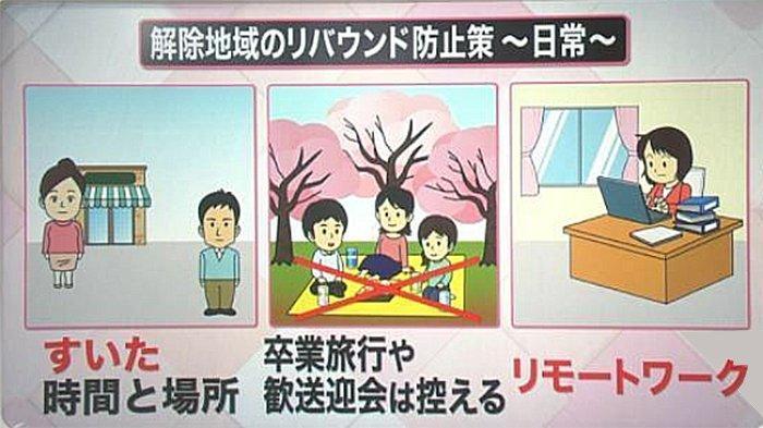 Imbauan Ahli Infeksi Menular di Jepang: Nikmati Sakura Jangan Sambil Makan Ramai-ramai