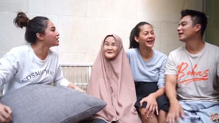 Momen Marshanda, Nenek Iro, Paula Verhoeven dan Baim Wong saat berbincang