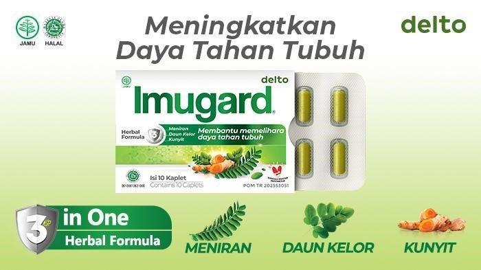 Imugard dengan 3 in 1 Herbal Formula 100% asli Indonesia
