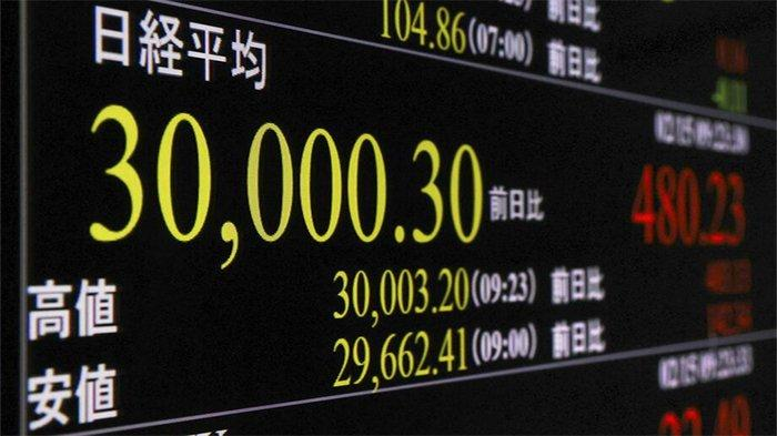 Indeks Pasar Modal Tokyo Jepang Melejit, Pertama Kali Dalam 30 Tahun Terakhir