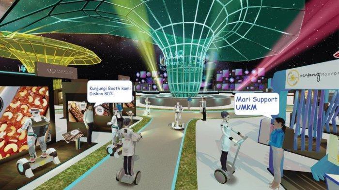 Ragam Produk UMKM dan Atmosfer Pekan Raya di Pameran Indo Virtual Fair 2021