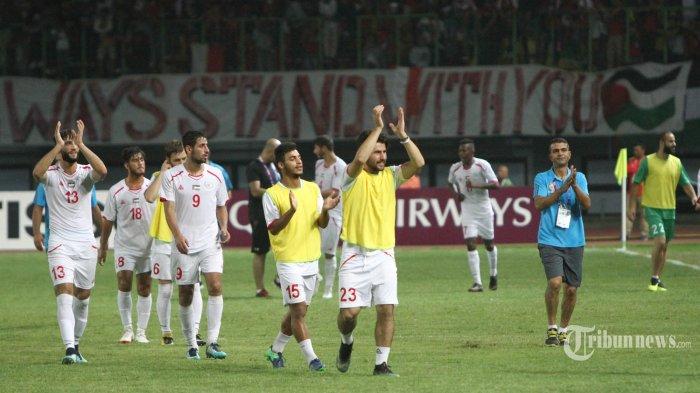 Hasil Akhir Piala Asia AFC 2019 Palestina Vs Yordania, Skor Imbang 0-0