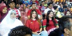 Indonesia Juara Piala AFF U-16, Keberadaan Via Vallen di Tribun Jadi Sorotan