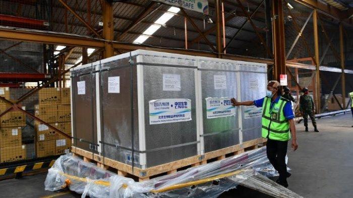 Tahap ke-34, Indonesia Terima 500 Ribu Vaksin Sinopharm