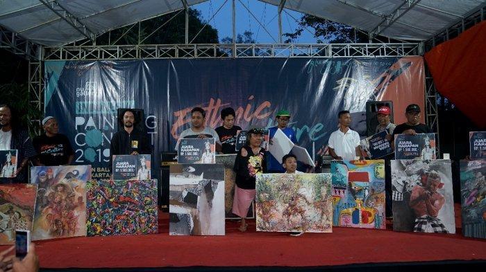 Ratusan Pelukis Ramaikan Indonesia Painting Contest 2019, Gus Nabil Minta Kekayaan Indonesia Dijaga